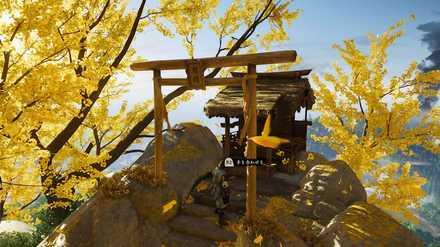ゴーストオブツシマの金室神社
