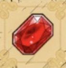 赤い宝石画像