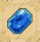 青い宝石画像