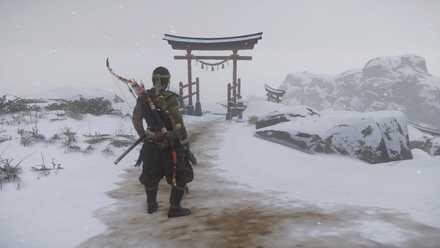 ゴーストオブツシマの霜上神社