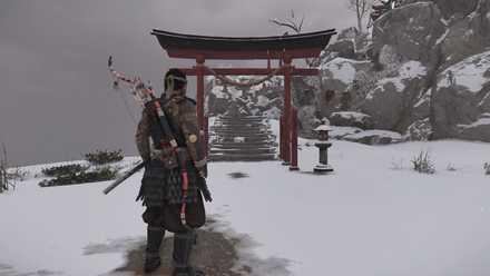 ゴーストオブツシマの白雪神社