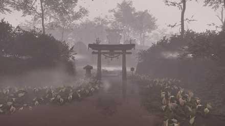 ゴーストオブツシマの苔岩神社