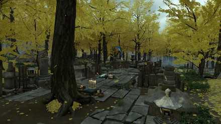 ゴーストオブツシマの黄金の森のこおろぎ