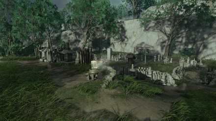 ゴーストオブツシマの木こりの林のこおろぎ