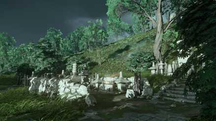 ゴーストオブツシマの若子の滝のこおろち