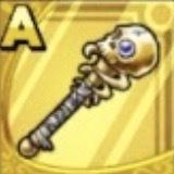 ドクロの杖画像