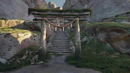 ゴーストオブツシマの小亀神社