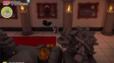 右の部屋のスカスカ穴