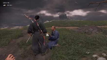 ゴーストオブツシマの紅葉寺の戦い