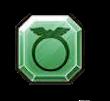 緑の精錬石のアイコン