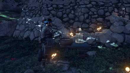 ゴーストオブツシマの高野山砦の墓地