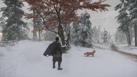 ゴーストオブツシマの狐の巣42