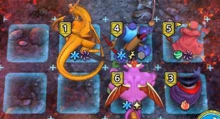 カイザードラゴン(強敵)初期配置