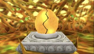 金のたまごの孵化