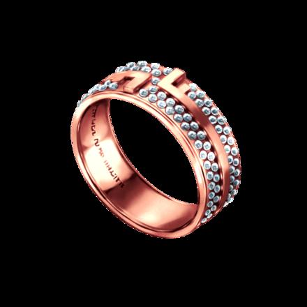 フィファニーの指輪【ピンク×ダイヤ】