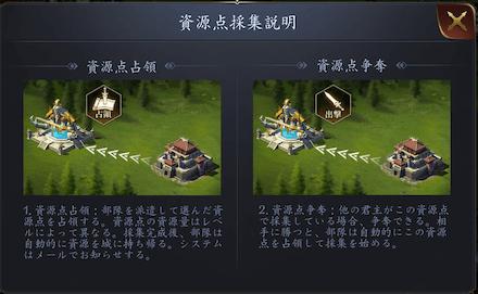 龍の覇業 資源点採集のやり方と効果について2