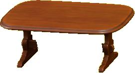 アンティークなテーブル画像