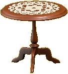 アンティークなミニテーブル画像