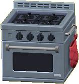 オーブンつきコンロの画像