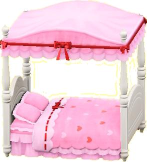 キュートなベッド画像