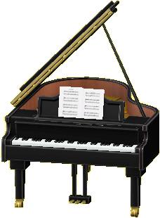 グランドピアノ画像