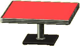 ダイナーなダイニングテーブル画像