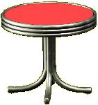 ダイナーなミニテーブル画像