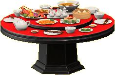 ちゅうかテーブル画像