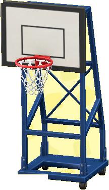 バスケットのゴールの画像