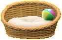ペットのベッド画像