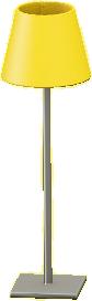 マウントシェードのフロアランプ画像