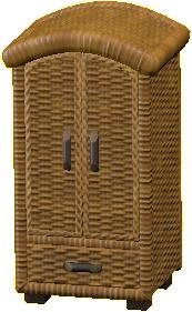 ラタンのクロゼット画像