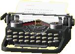 タイプライターの画像