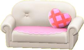キュートなソファの画像