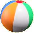 ビーチボールの画像