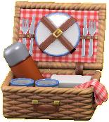 ピクニックバスケットの画像