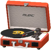 Portable Record Player Image
