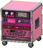 エフェクターラックのピンクの画像