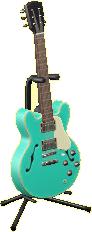 エレキギターES2のマリンエメラルドの画像