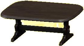 アンティークなテーブルのブラックの画像