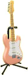 エレキギターES1のコーラルピンクの画像