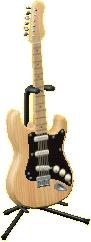 エレキギターES1のナチュラルウッドの画像