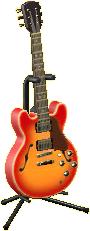 エレキギターES2のチェリーの画像