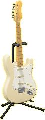 エレキギターES1のシックホワイトの画像