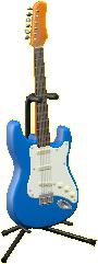エレキギターES1のクールブルーの画像