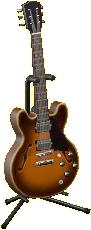 エレキギターES2のサンバーストの画像