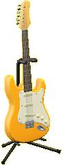 エレキギターES1のオレンジイエローの画像