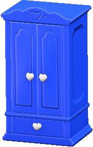 キュートなクロゼットのブルーの画像