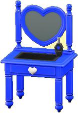 キュートなドレッサーのブルーの画像