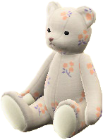 くまのナミちゃんのフラワーの画像